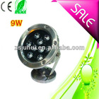 9w RGB led swimming pool light,led underwater light ip68 waterproof with CE&ROHS 2years warranty