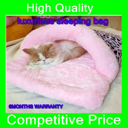HOT SALE pet product supplies luxurious sleeping bag pet bed high quality fabric product dog bed FOR winter