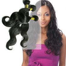 Hot sale!!!2013 popular in Pakistan virgin remy brazilian hair extensions