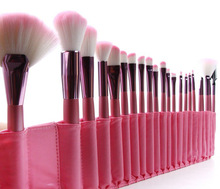 make up bags,professional 22 pieces makeup brush set with kit