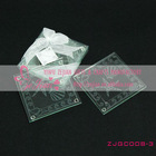 Shell & Starfish Frosted Glass Coasters Wedding Favors