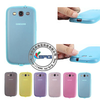 312 24h SALE!!! Free shipping!!!Colorful and soft TPU case for Samsung S3 i9300 with factory price