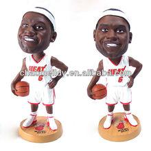 NBA famous basketball player figurine