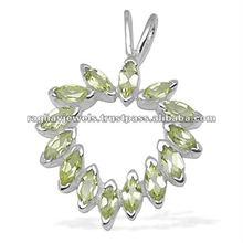 Custom Jewelry Manufacturer, Natural Gemstone Wholesale Supplier Silver Pendants