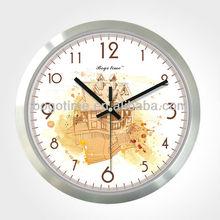 """12"""" White color retro design decorative wall clock"""