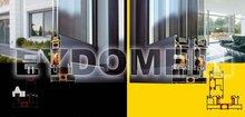 Aluminium door & window sliding thermal break system