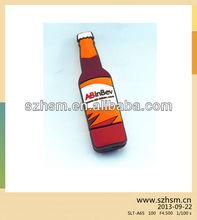 Beer bottle shaped USB flash drives