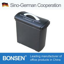 GS/CE approval Cross cut mini hand held paper shredder