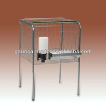 Cage for fattening chickens - 1 compartment