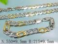 simple de la cadena de la joyería joyería de acero inoxidable para los hombres