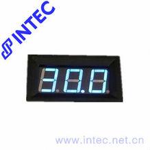 Led voltage meter,Electrical instrument DC 4.5~150V mini Voltage Meter,DC digital voltmeter blue color