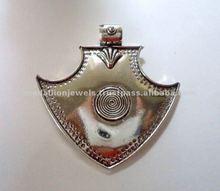 Oxidised Arrowhead 925 Solid Silver Pendants,Designer Sterling Silver Pendants, 925 Solid Sterling Silver Pendants