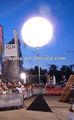 La decoración al aire libre del globo/llevó la luz del globo inflable