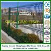 Powder coated RAL6005 welded mesh Fence (Factory,ISO9001)