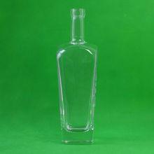 GLB740001 Flint 740ML Liquor Glass Bottle Wholesale Tequila Vodka Spirit Green Amber
