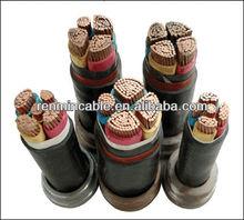 Low voltage High voltage xlpe cable 4core 5core copper aluminum standard power cable sizes