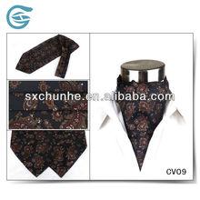 Silk Digital Printing Elegant Paisley Cravat Tie For Men's Shirt CV09