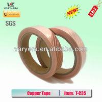 50m length Adhesive Copper Foil EMI Shield Tape Conductive 25mm width