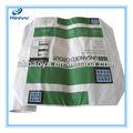 Hy-k672 2013 venda quente saco de papel reciclado para carvãovegetal/brown sacos de papel kraft com torção punho