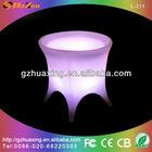 Attractive plastic waterproof led table lights wedding
