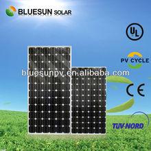high efficiency low price mono 210w amorphous silicon thin film flexible solar panel