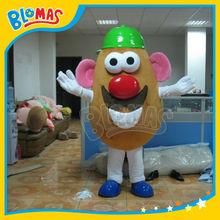 new arrival Mr Patato Head cartoon mascot