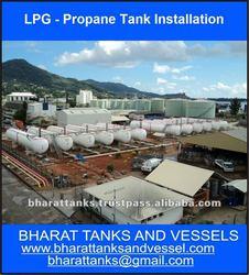 LPG- Propane Tank Installation