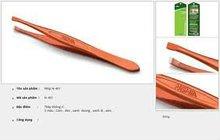 SOVINA Tweezere 401-Stainless Steel-5 Colours: Orange,Black, Blue, Green, Gray