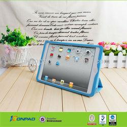 Blue leather case for ipad mini,luxury more leather for ipad,leather for ipad case