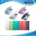 Wholesale Price Flip Card Case For Galaxy S4 I9500, Samrt Leather Card Case For Galaxy S4