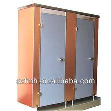 grey bathroom doors / solid grade laminate