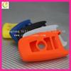 High quality silicone soft key shell, car key remote shell,3 buttons smart car key case& key shell& key cover& key blank for BMW
