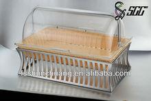 plastic bread basket,handicraft storage box