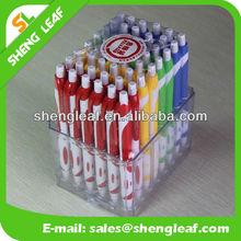 2015 Hottest!!! Logo Printed Promotional Pen/Plastic Pen/Banner Pen