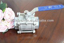 nickle plated China ball valve sanitarywares parts