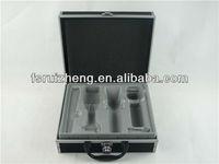 Simple professional aluminum barber tool case RZ-C514