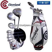[golf club set] Golf CG BOX club set 11p (1W,3W,4U,I5-PW,SW,PT) carbon/steel shaft with caddy bag