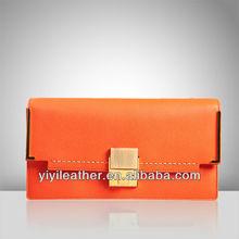 R-079 woman designer elegant evening clutch PU bag, china manufacturer