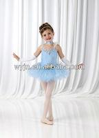 October's new -child dance flower performance skirt -girls' dance costumes-ballet skirt-children and adults' ballet dancewear