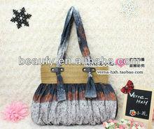 2014 wholesale lady fashion crochet bags