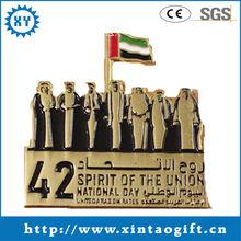2014Cheap personalized custom russian metal pin badge