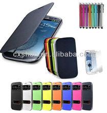 Flip Leather PU Slim Hard Luxury Case Cover for Samsung Galaxy S3/III i9300