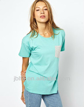 Mujer de los deportes de la camiseta OEM