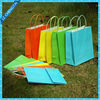 paper twist handle stand up kraft paper bag