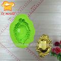 diamante forma 3d silicone torta di decorazione stencil