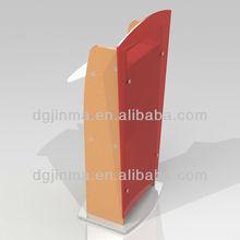 JDZ-AL493 Hot sale customized Logo design metal church pulpit;freestanding church pulpit;modern pulpit