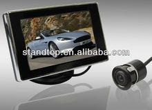vision car alarm video reverse warning systems