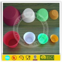 High tearing resistance silicone cake cases muffin cups
