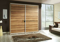 rústico de madeira marrom porta deslizante do armário para casa