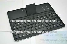 Stylish Black & Silver Wireless Aluminium keyboard for ipad